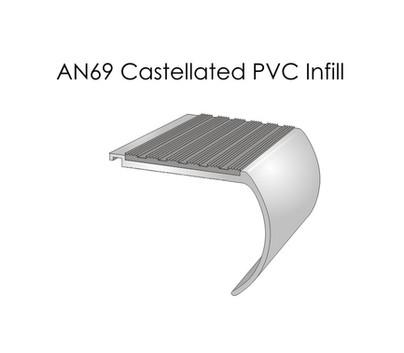 AN69 Castellated PVC Infill
