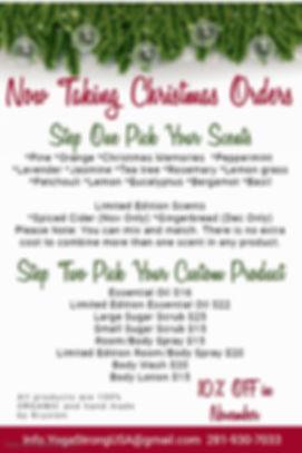 Copy of Christmas Specials Menu Template