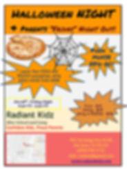 After school Summer Camp Radiant kidz flyer brochure pamphlet