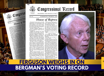 'Jack Bergman's voting record is abysmal' –DF