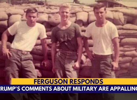 "Dana Ferguson: My father is a patriot not a ""sucker"""