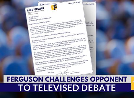 'Jack, debate me.' –Dana Ferguson