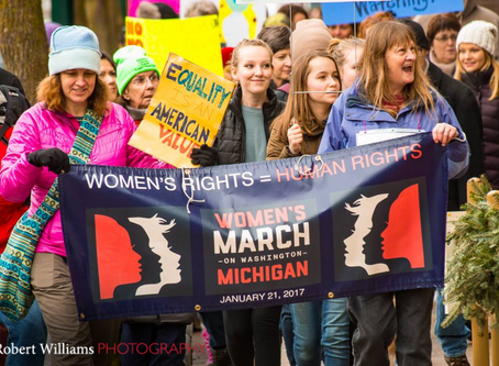 Ferguson receives second glowing recommendation from Women's March TC