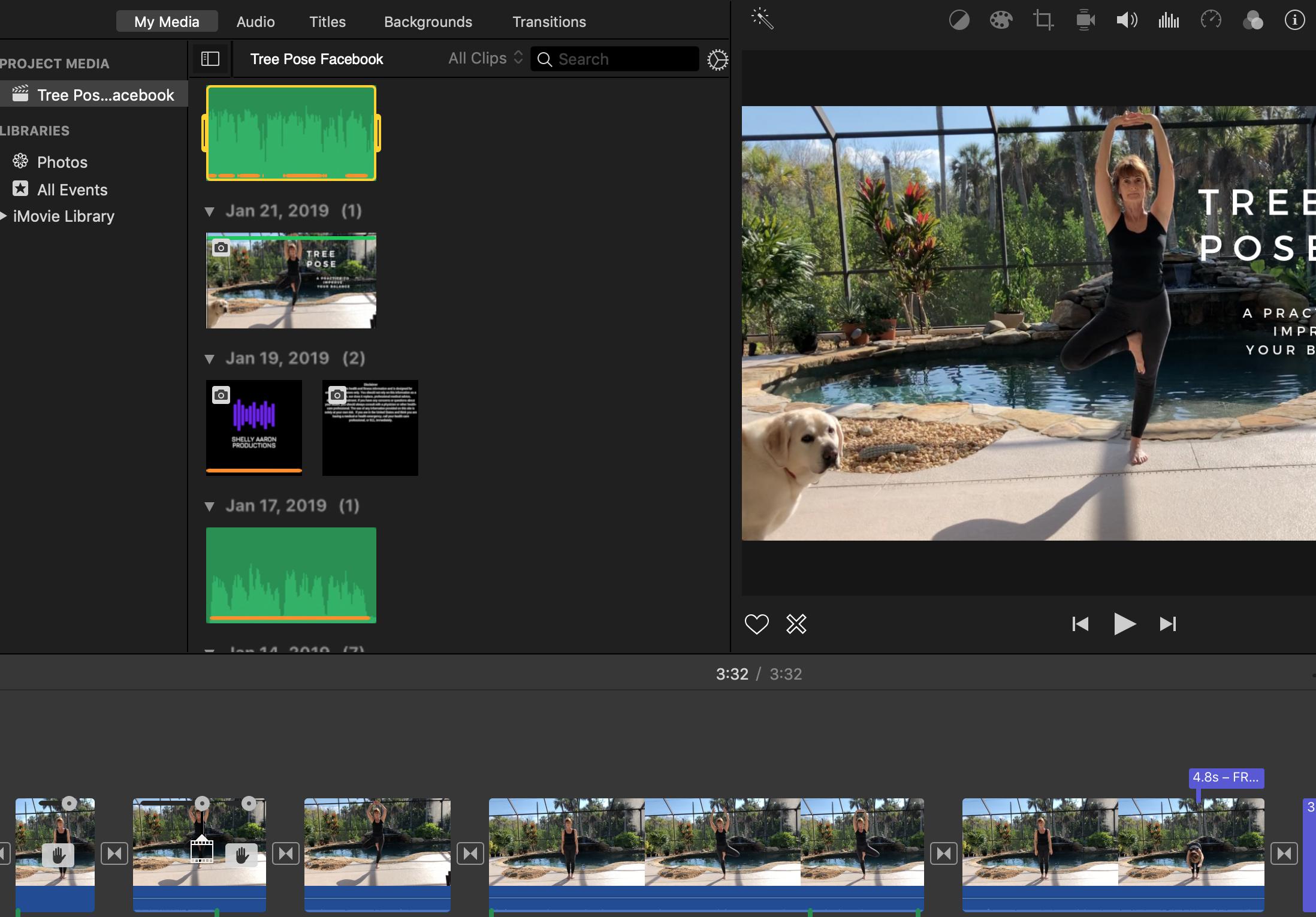 Tree Pose Video Production