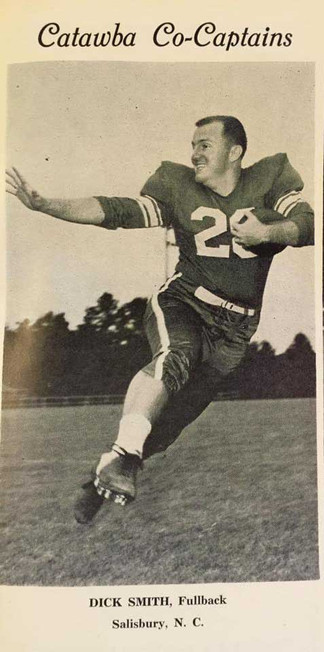 (Civitan) Dick Smith - 'Rugged little fullback' recalls glory days