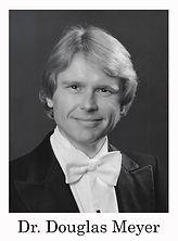 Dr. Douglas Meyer, SSO Conductor 1982-84
