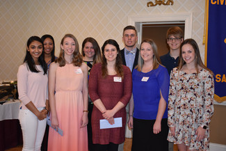 Nine Awarded 2017 Civitan Scholarships