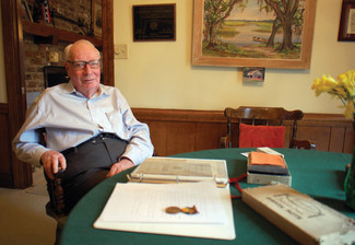 Civitan Dr. Norman Sloop tells the story of uncle, World War I soldier Carl Bradshaw
