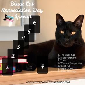 Black Cat Appreciation Day Spread