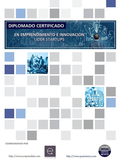 Diplomado Certificado en Innovación Líder de Startups.