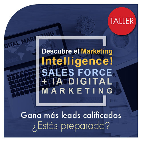 Taller Marketing Intelligence + Salesforce (E-learning)