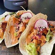 Ensenada Style Vegetarian Tacos (3)