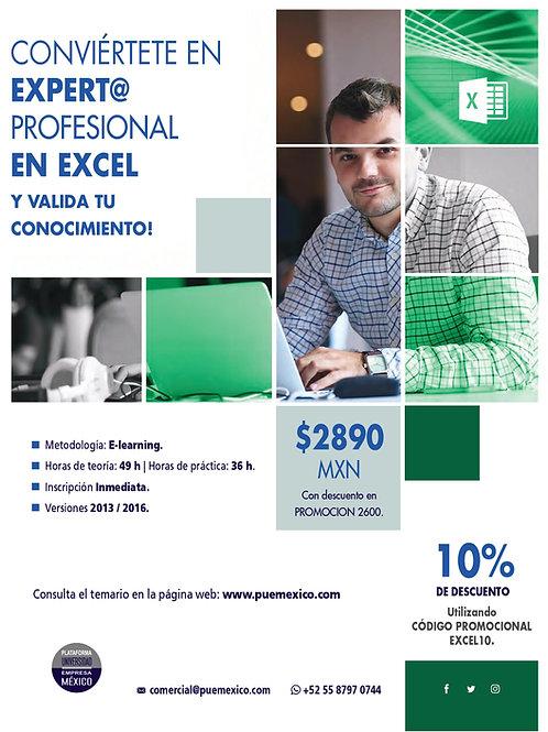 Curso Superior Experto / a en Microsoft Excel. Promoción!