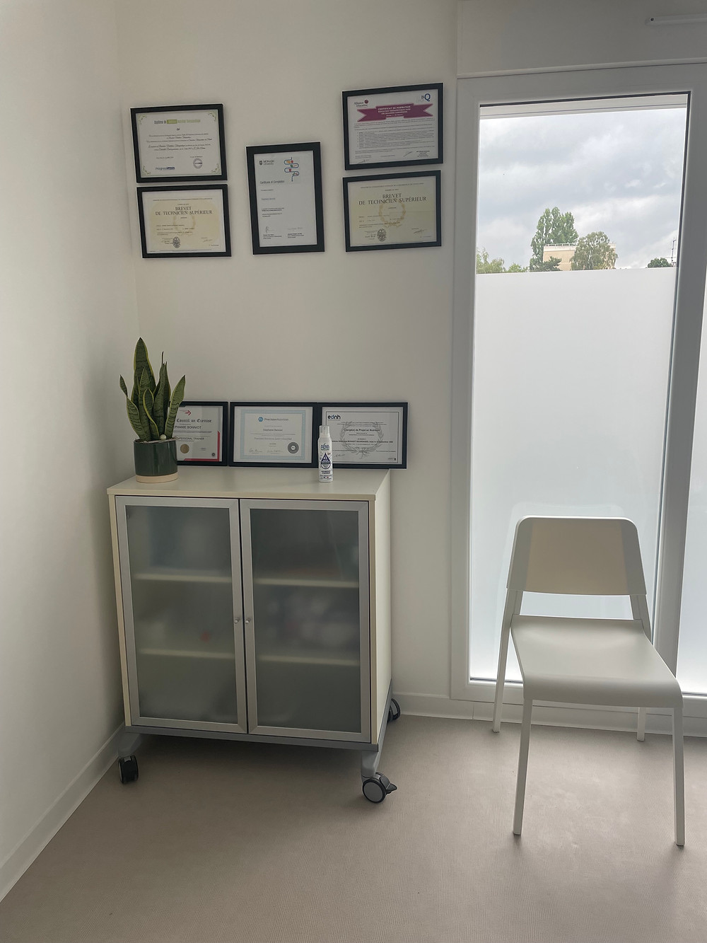 Stephanie Bonniot's new private practice office in Chambly's MSP