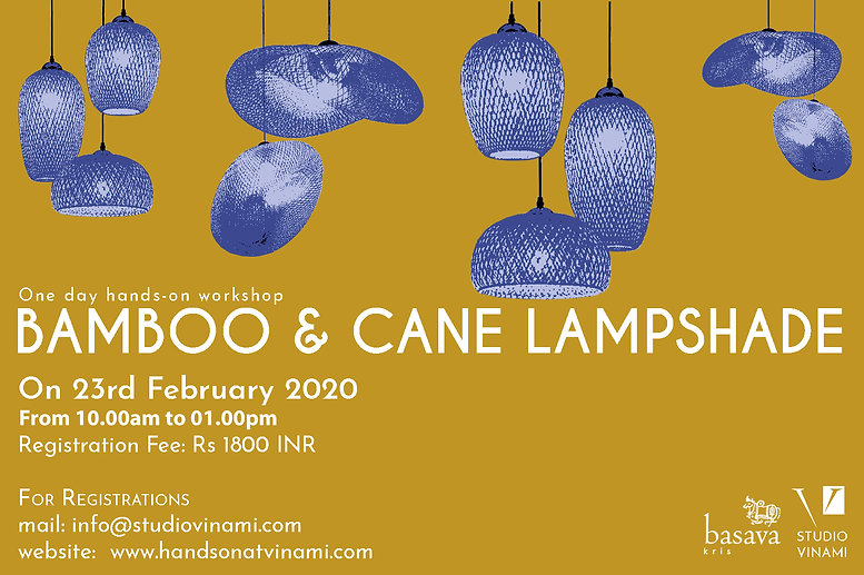 20.02.23 - Lampshade making workshopjpg
