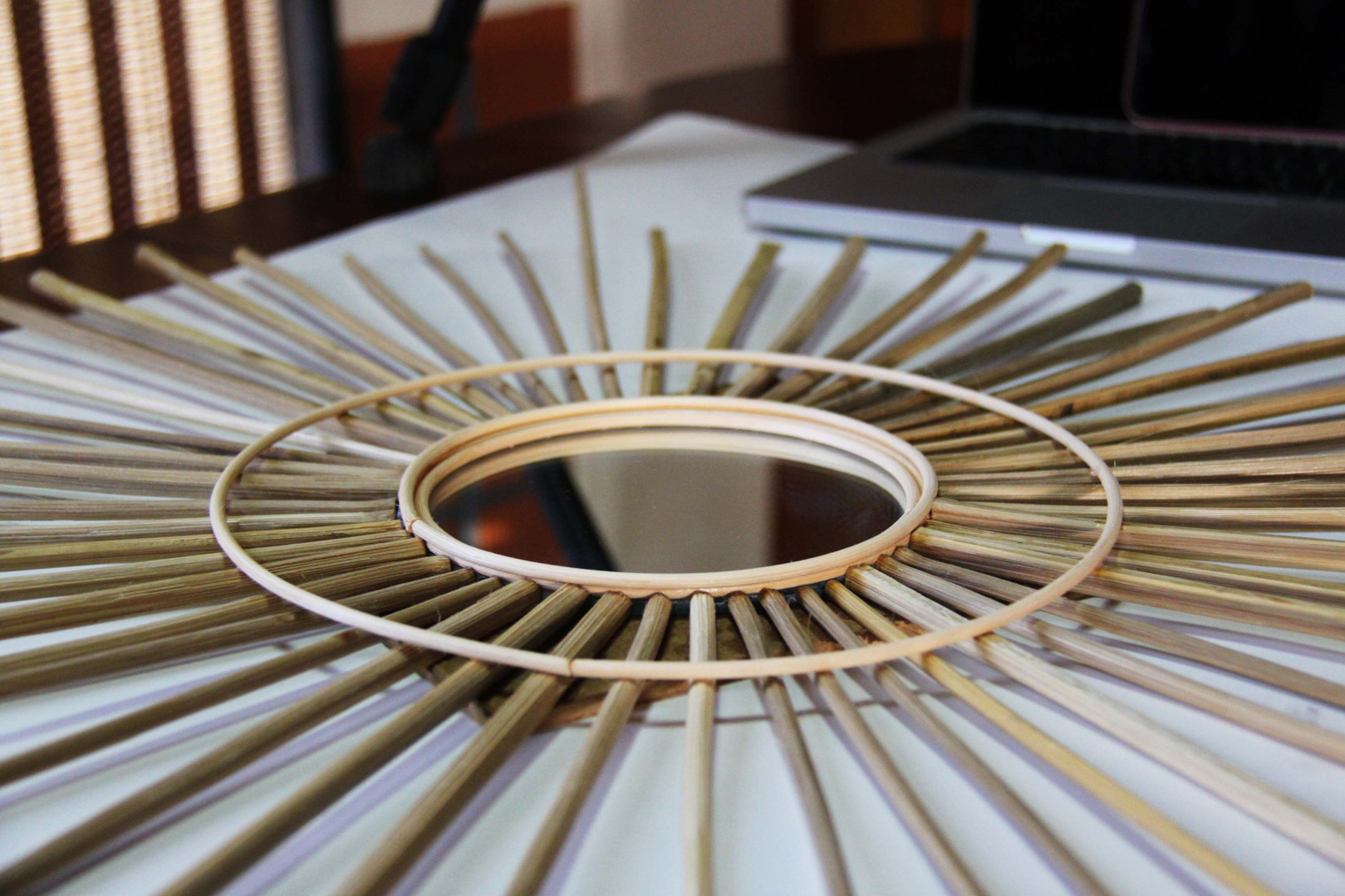 Bamboo and Cane Mirror Workshop