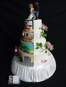 Reverse Novelty Cake