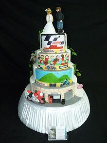 Novely Wedding Cake