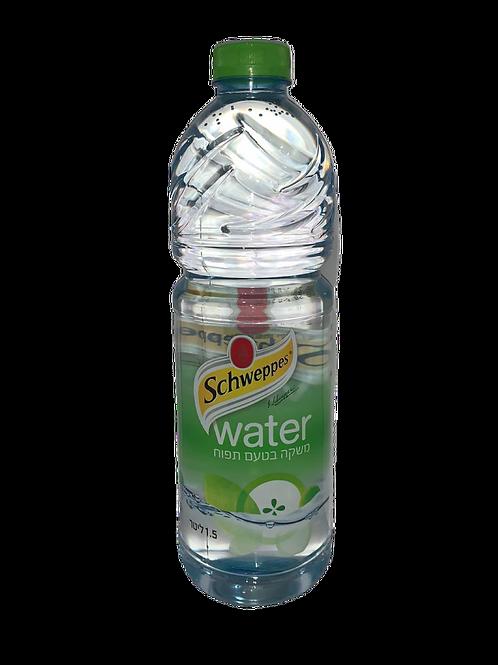 שוואפס מים בטעם תפוח 1.5 ליטר
