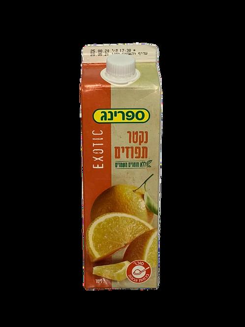 נקטר תפוזים ספרינג 1 ליטר
