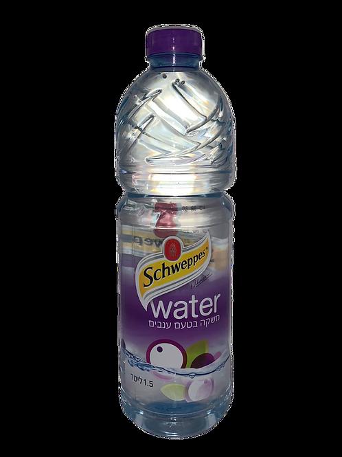 שוואפס מים בטעם ענבים 1.5 ליטר