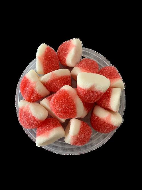 סוכריות גומי תותים עגולים 150 גר׳