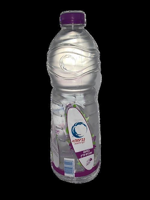 נביעות מים בטעם ענבים עדין 1.5 ליטר