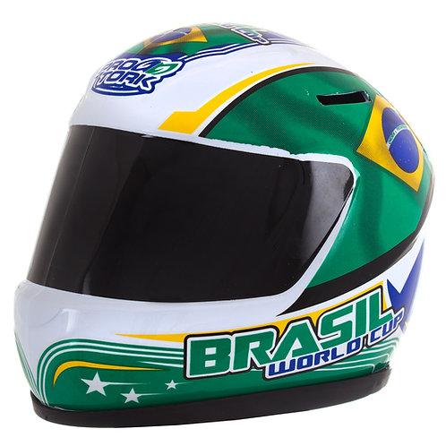 Minicapacete Cofre Brasil