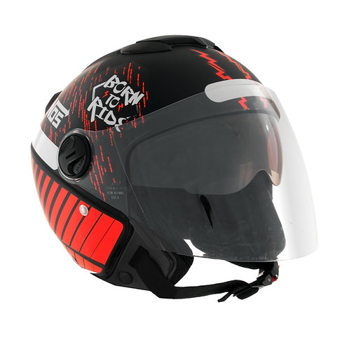Capacete New Atomic Nos Born To Ride