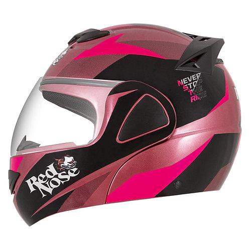Capacete V-Pro Jet Red Nose Pink