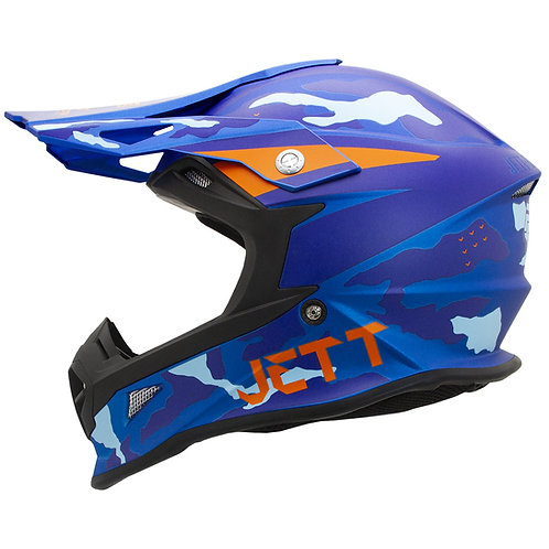 Capacete Jett Cross Factory Edition 3