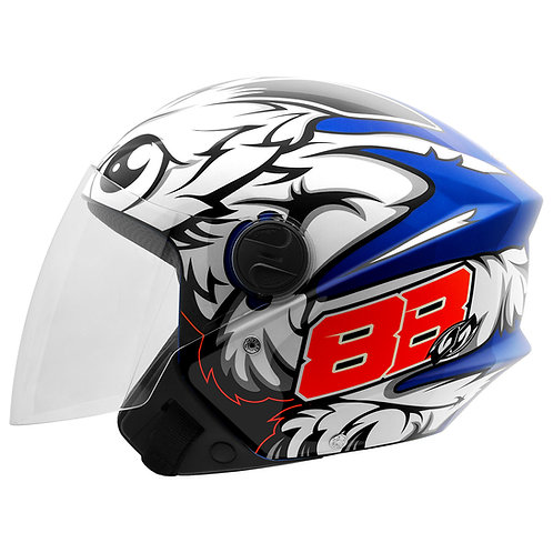 Capacete New Liberty 3 GP 88 Brilho