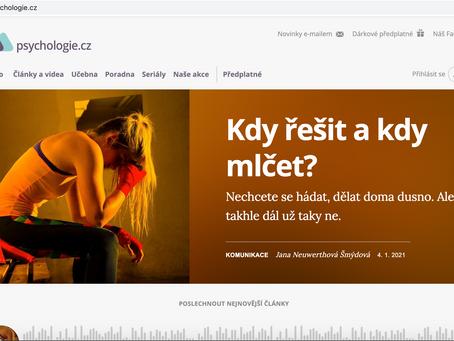 Kdy řešit a kdy mlčet? psychologie.cz