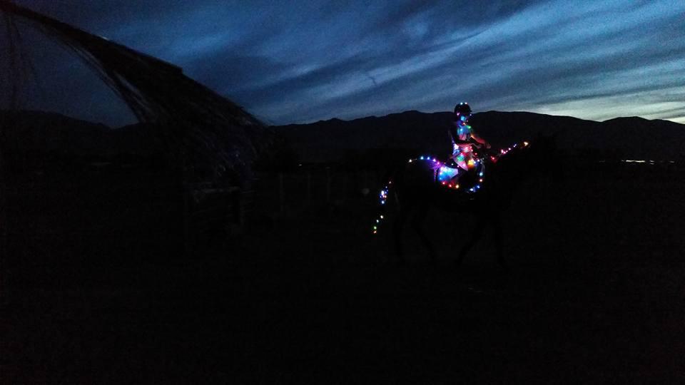 Midnight challenge glow in the dark