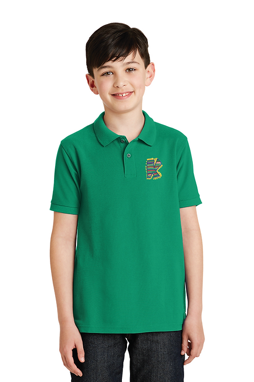 Port Authority® Youth Silk with K Club Logo