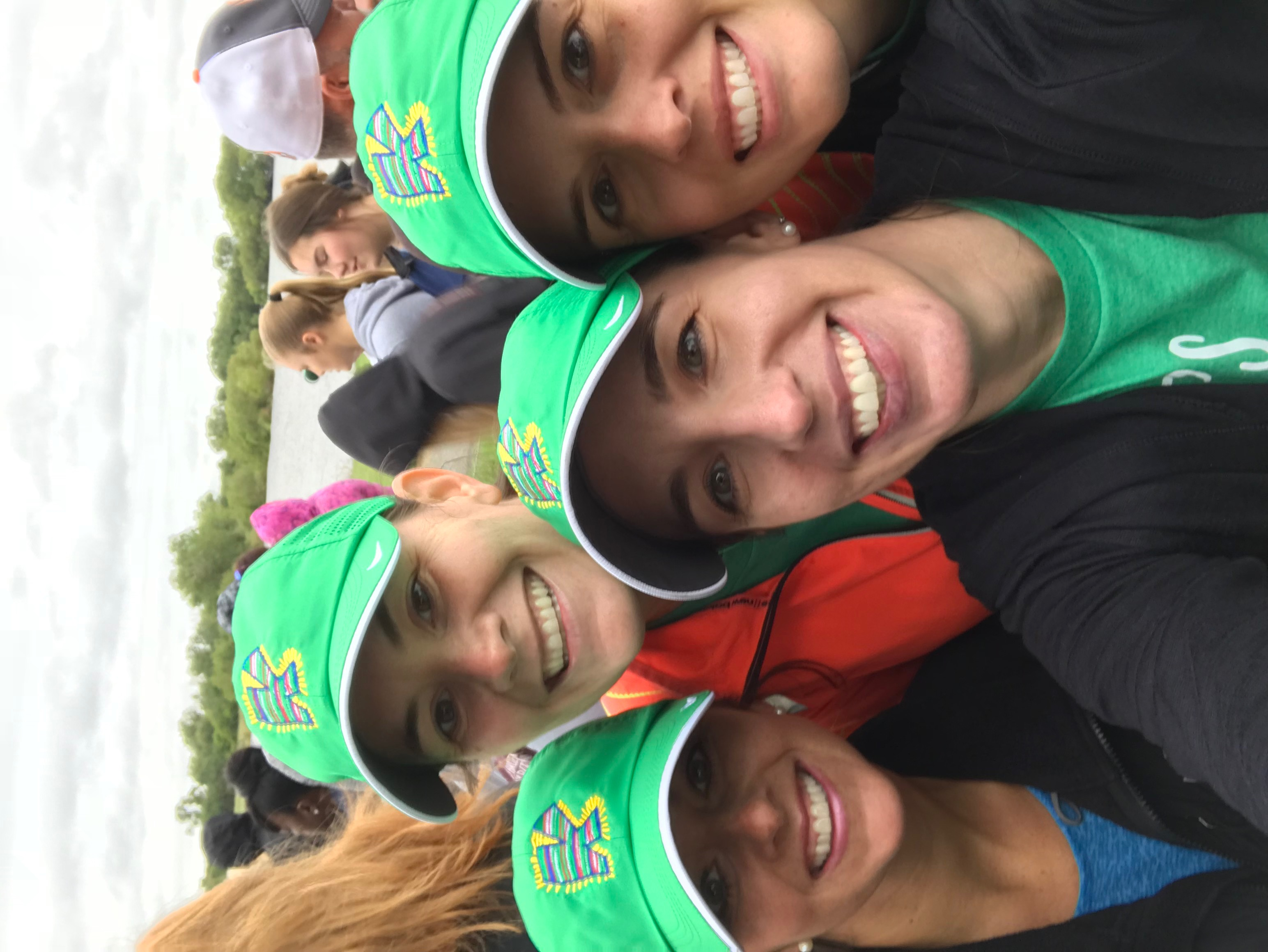Green hats!!