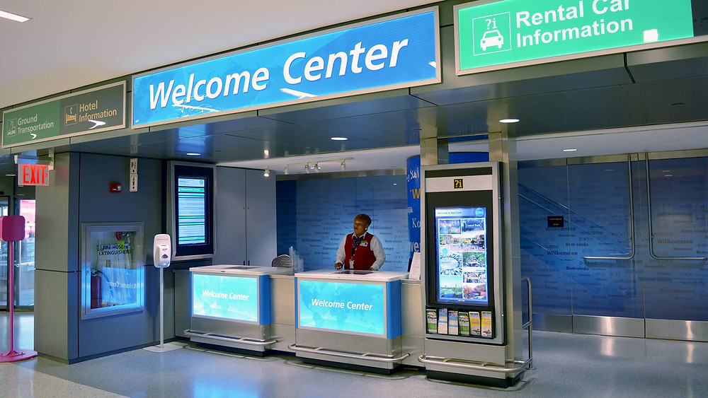 JFK Welcome Center Terminal 5i