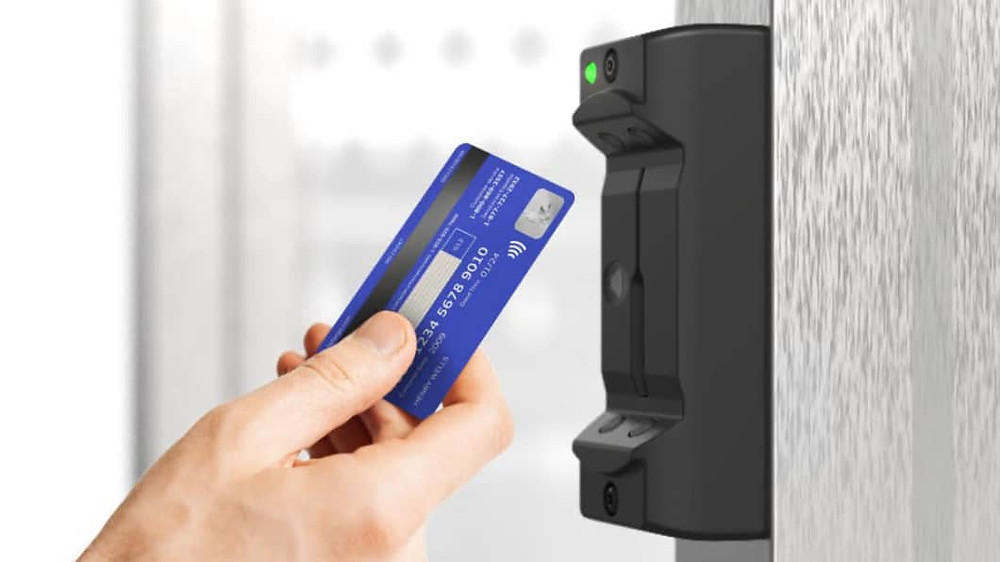 Card magnetic stripe reader and contactless NFC reader