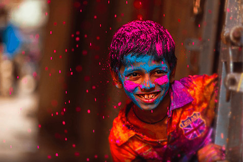 Holi, le festival de la couleur en Inde