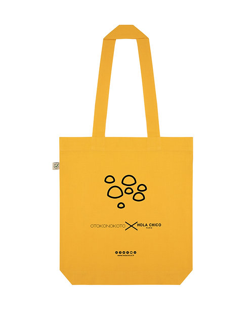 Vue frontal Tote Bag gold