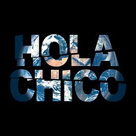 Antiguo logo de Hola Chico con el mundo en su interior, representando el medio ambiente y el respeto por el.