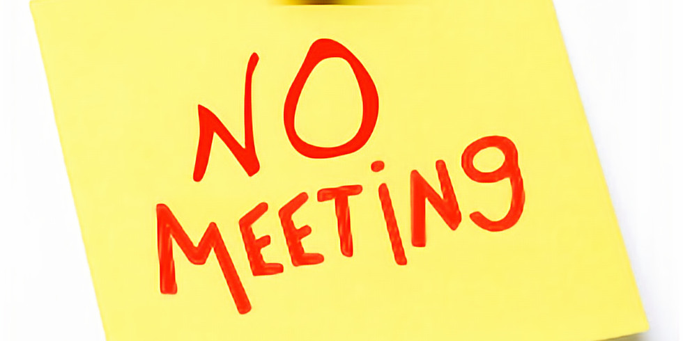 NO AUGUST MEETING