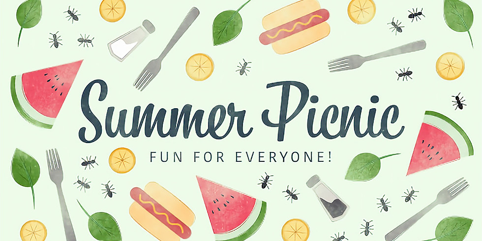 July Potluck Picnic- SAVE THE DATE!