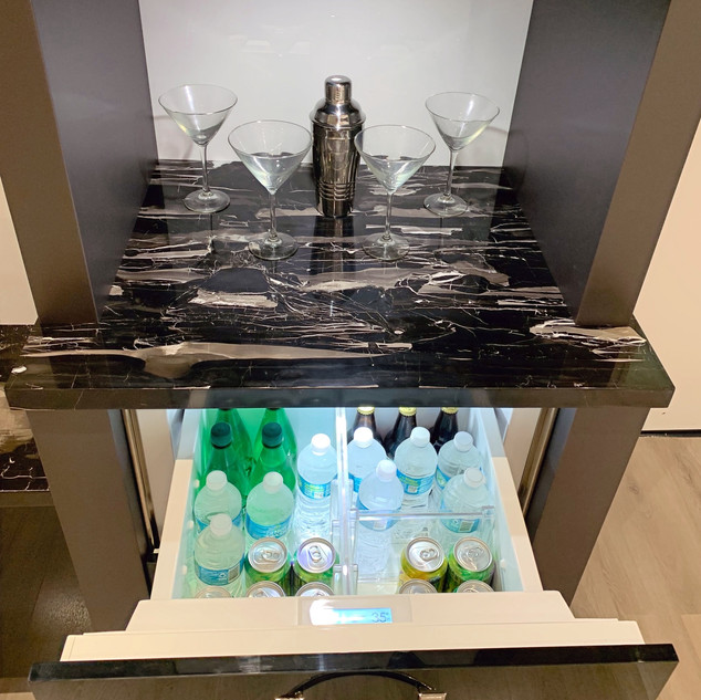 Hospitality Suite Beverage Station