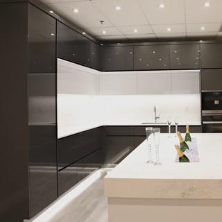 Closet Lifestyle Showroom Kitchen