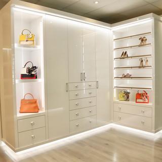 Closet Lifestyle Her Luxury High Gloss W
