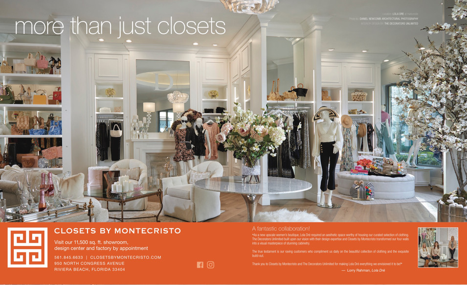 LUXE CLOSETS BY MONTECRISTO