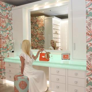 Closet Lifestyle Luxury Lounge Showroom.