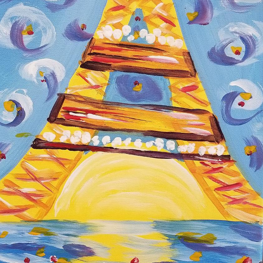 Kreative Kids: Eiffel Tower