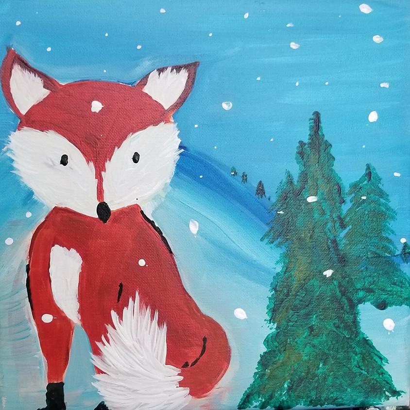 Kreative Kids: Fox in Snow